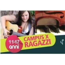 Scuola Estiva di Musica per Ragazzi dagli 11 ai 17 anni - estate 2014